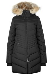 Pajar Brooklyn Black Fur Trimmed Parka
