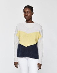 Just Female Herle Knit Sweater In Pale Yellow