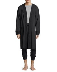 Ugg Samuel Cotton Blend Robe Black