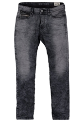 Tom Tailor Denim Slim Fit Jeans Blur Wash Grey Denim