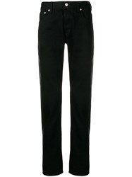 Alexander Mcqueen Side Stripe Jeans Black