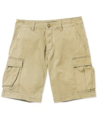 Element Men's Howland Flex Cargo Shorts Desert