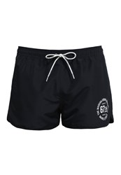 Marc O'polo Solids Swimming Shorts Blueblack Blue Grey