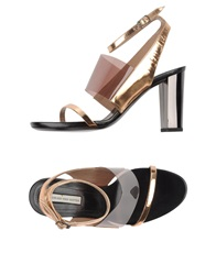 Dries Van Noten Sandals Copper