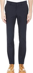 Band Of Outsiders Woven Trousers Blue