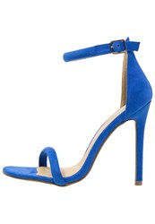 Missguided High Heeled Sandals Cobalt Blue