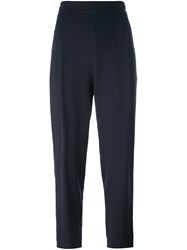Vince Tapered Trousers Blue