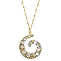 Michal Golan Jewelry Icicle Swirl Necklace