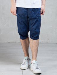 Clot Overall Wave Pattern Panel Shorts