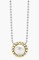 Women's Lagos Stone Pendant Necklace Pearl