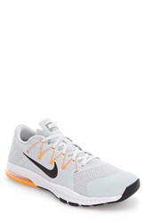 Nike Men's Zoom Train Complete Training Shoe Platinum Citrus Grey Black
