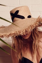 Lola Hats For Fp Womens Cross My Heart Straw Hat