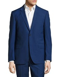 Neiman Marcus Two Button Two Piece Suit Navy