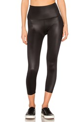 Beyond Yoga Gloss Over High Waist Capri Black