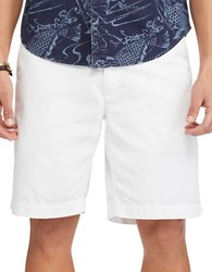 Polo Big And Tall Classic Fit Cotton Chino Shorts White