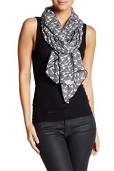 Cole Haan Waves Oblong Scarf Black