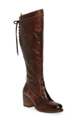 Bed Stu Women's Fortune Knee High Boot Teak Rustic