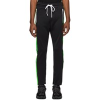 Diesel Black And Green P Russy Band Lounge Pants