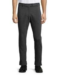 Atm Stretch Knit Pants Charcoal