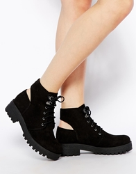 Asos All Night Long Ankle Boots Black