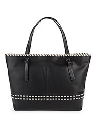 Cole Haan Brynn Leather Tote Black