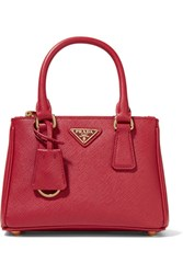 Prada Galleria Baby Textured Leather Tote