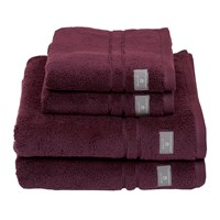 Gant Premium Terry Towel Purple Fig Wash Cloth