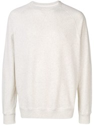 Barbour Crew Neck Sweatshirt Neutrals