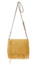 Rebecca Minkoff Finn Cross Body Bag Harvest Gold