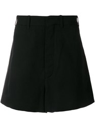 Ann Demeulemeester Tailored Style Shorts Black