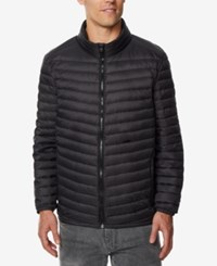 32 Degrees Men's Light Thin Packable Bomber Jacket A Macy's Exclusive Black