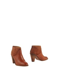 Sessun Ankle Boots Tan