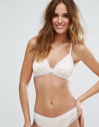 Lepel London Caitlin Bridal Triangle Bra Pink