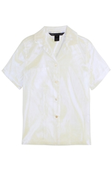 Marc By Marc Jacobs Cluster Cellophane Blouse