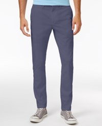 American Rag Men's Stretch Chino Pants Only At Macy's Thunder