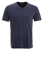Icebreaker Tech Lite Sports Shirt Fathom Heather Dark Blue