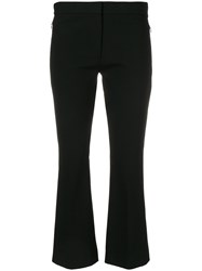 Theory Slim Cropped Culottes Black