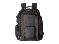 Tumi Alpha Bravo Shaw Deluxe Brief Pack Anthracite Briefcase Bags Pewter
