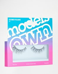 Models Own Textured Eyelashes Textured Black