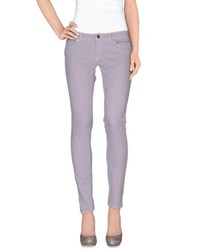 Camouflage Ar And J. Trousers Casual Trousers Women Lilac