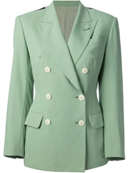 Jean Paul Gaultier Vintage Bi Colour Blazer Green