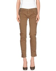 Nolita Trousers Casual Trousers Women Khaki