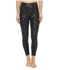 Yummie Tummie Cotton Control Andy Skimmer Black Clear Print Women's Casual Pants