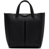 Anya Hindmarch Black Mini Nevis Crossbody Tote