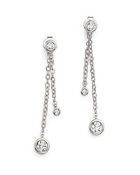 Bloomingdale's Diamond Solitaire Stud Ear Jackets In 14K White Gold .50 Ct. T.W.