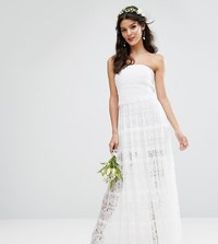 Body Frock Bodyfrock Bridal Tiered Maxi Dress White