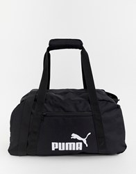 Puma Phase Sport Holdall Bag In Black