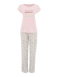 Therapy Ice Cream Pj Set Multi Coloured