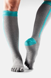 Toesox Knee High Compression Sport Socks 4Am Ice