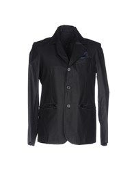 Piero Guidi Blazers Dark Blue